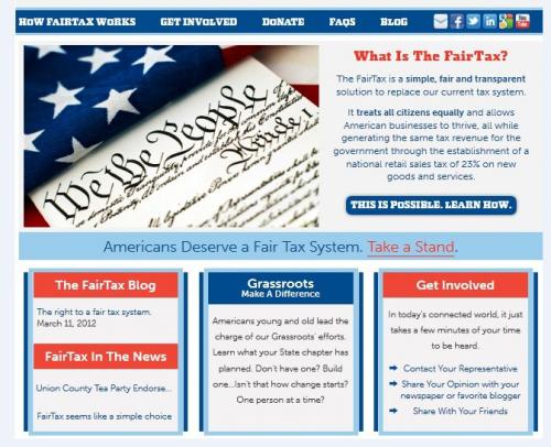 Georgia FairTax Organization   GAFairTax.org