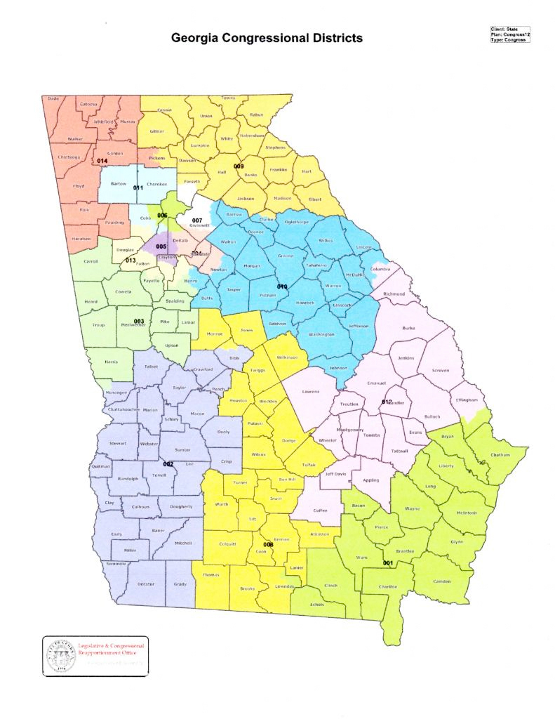 National Representatives Georgia For FairTax - Us senate map 2015