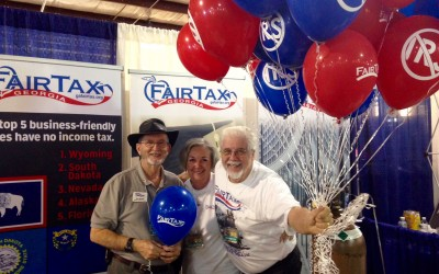 GFFT Goes to the Fairs to Promote FairTax®